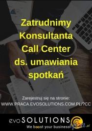 Konsultant Call Center ds. umawiania spotkań (praca zdalna)