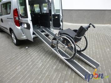 Fiat Doblo 2011r 2,0JTD 135KM do Przewozu Osób Niepełnosprawnych