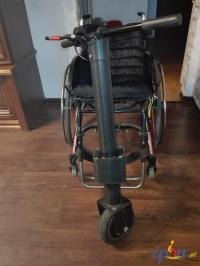 Przystawka elektryczna do wózka inwalidzkiego