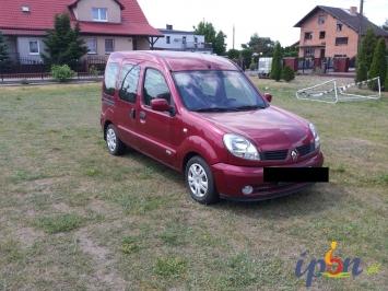Renault Kangoo dla niepełnosprawnych joystick benzyna + gaz 16V