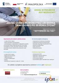 Bezpłatny kurs Rachunkowości dla bezrobotnych/biernych zawodowo 30+!
